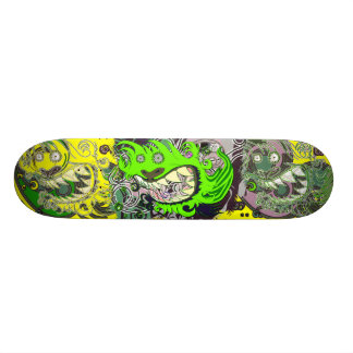Crazy dragon (Green) Skate Decks