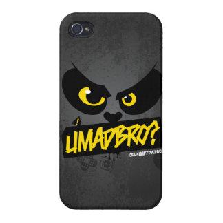 Crazy Drift Patrol - UMADBRO? (yellow) iPhone 4 Cover