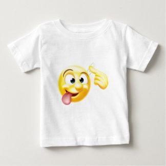 Crazy Emoji Emoticon Character Baby T-Shirt