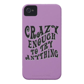 Crazy Enough iPhone 4 Case-Mate Case
