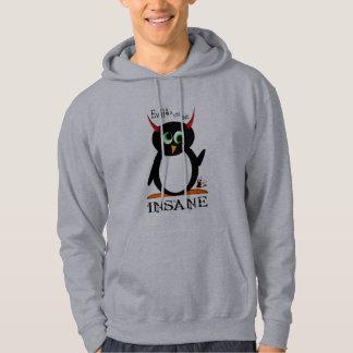 Crazy Evil Penguin Hoodie