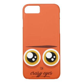 Crazy eyed Tom iPhone 8/7 Case