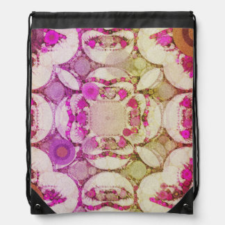 Crazy Eyes Pop Pattern Drawer Bags Drawstring Backpacks