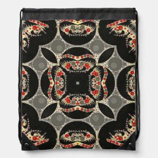 Crazy Eyes Pop Pattern Drawer Bags Drawstring Bag