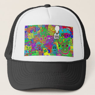 Crazy Faces Hat