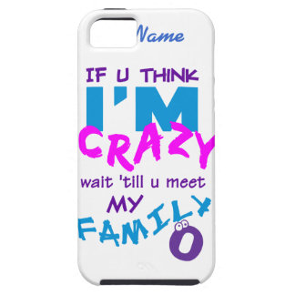 Crazy Family custom iPhone 5 Case-Mate