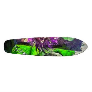 Crazy flower and plants skateboards