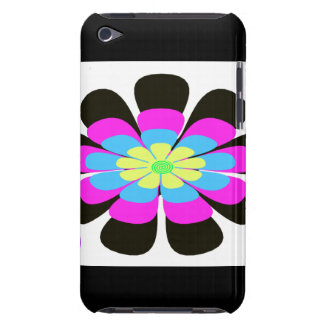 Crazy Flower i Pod Touch Case Barely There iPod Cover