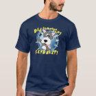 Crazy Flyball Dog Dark T-Shirt