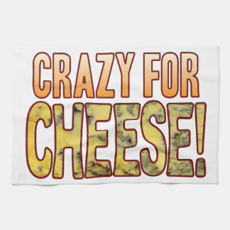 Crazy For Blue Cheese Tea Towel