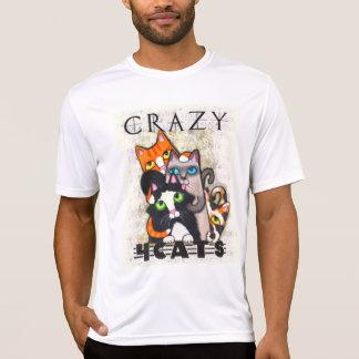 Crazy For Cats Mens Shirt