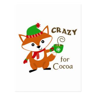 Crazy For Cocoa Postcard