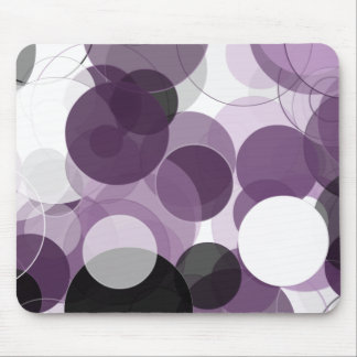 Crazy for Purple Mouse Mat