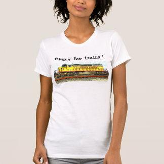Crazy For Trains Apparel Tshirts