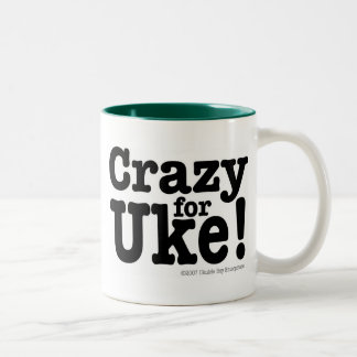 Crazy for UKE Designer Coffee Mug