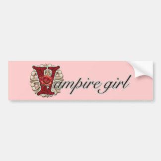 Crazy for Vampires Bumper Sticker