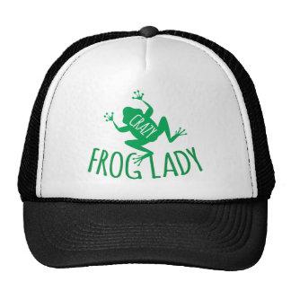 Crazy Frog Lady Cap