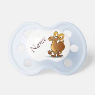 Crazy goat baby pacifiers