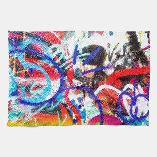 Crazy Graffiti Tea Towel