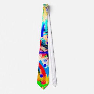 Crazy Graffiti Tie