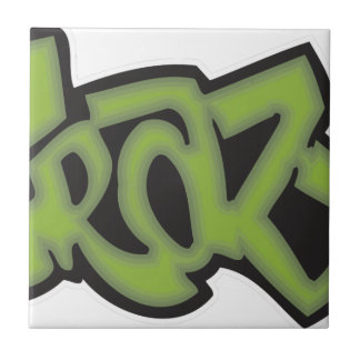 Crazy - Graffiti Tile