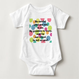 Crazy Grandma Infant T Shirt