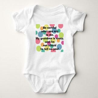 Crazy Grandma Infant T Shirt