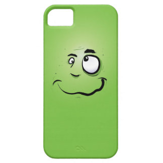 Crazy Green Man iPhone 5 Cover