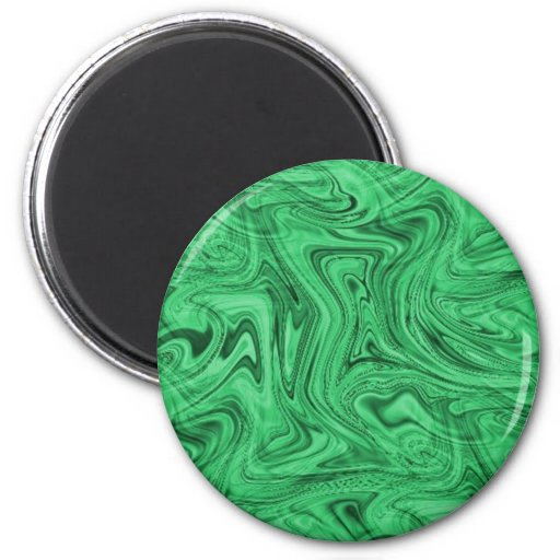 crazy_green_swirlz magnets