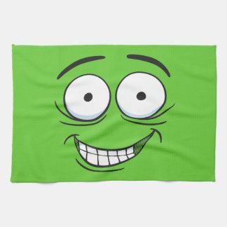 Crazy Grin Hand Towel