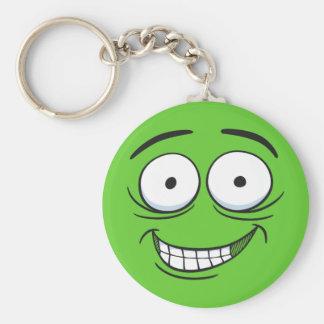 Crazy Grin Keychains