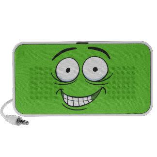 Crazy Grin Laptop Speakers