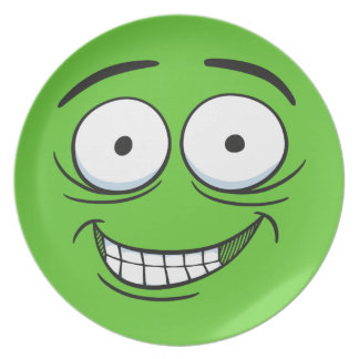 Crazy Grin Plate