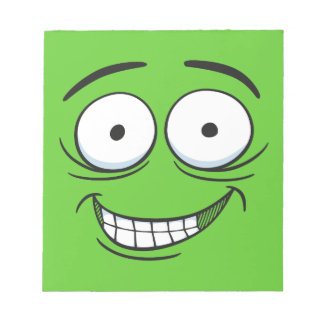 Crazy Grin Scratch Pad