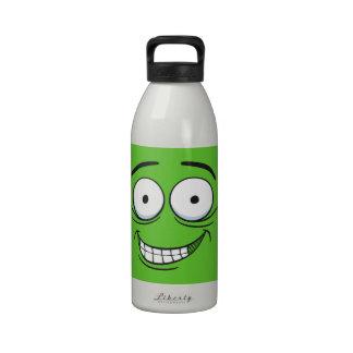 Crazy Grin Water Bottle