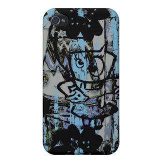 Crazy grunge graffiti iphone case iPhone 4 cover