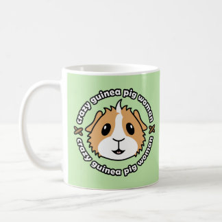 Crazy Guinea Pig Woman Mug