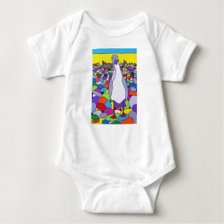Crazy Gull - Little Nipper Baby Bodysuit