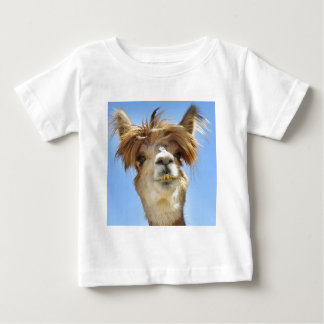 Crazy Hair Alpaca Baby T-Shirt