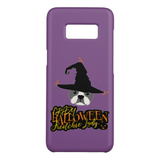 Crazy Halloween Frenchie Lady French Bulldog Mom Case-Mate Samsung Galaxy S8 Case