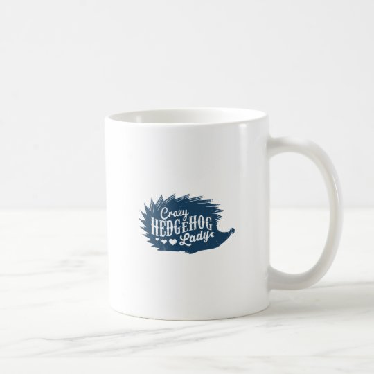 Crazy Hedgehog Lady Coffee Mug