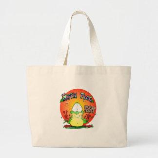 Crazy Hippie Frog Bags