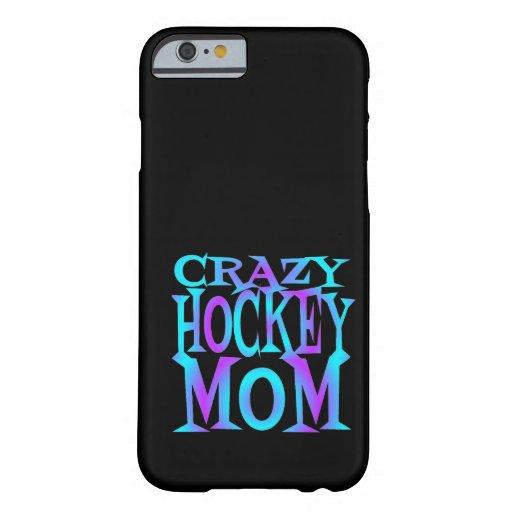 Crazy Hockey Mom iPhone 6 Case