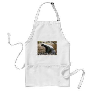 crazy honey badger standard apron