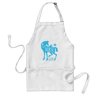 Crazy horse guy standard apron