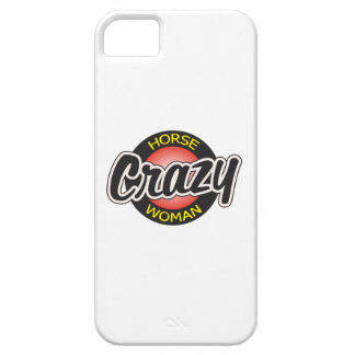 CRAZY HORSE WOMAN iPhone 5 CASE