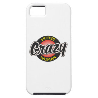 CRAZY HORSE WOMAN iPhone 5 CASES