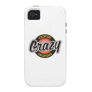 CRAZY HORSE WOMAN iPhone 4/4S COVERS