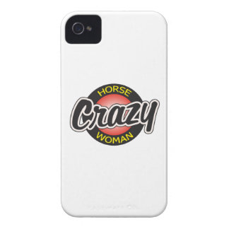CRAZY HORSE WOMAN iPhone 4 Case-Mate CASES