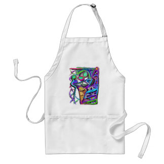 crazy ice cream cone 1 standard apron